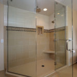Inviting retreat shower