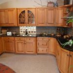 Kitchen with curves