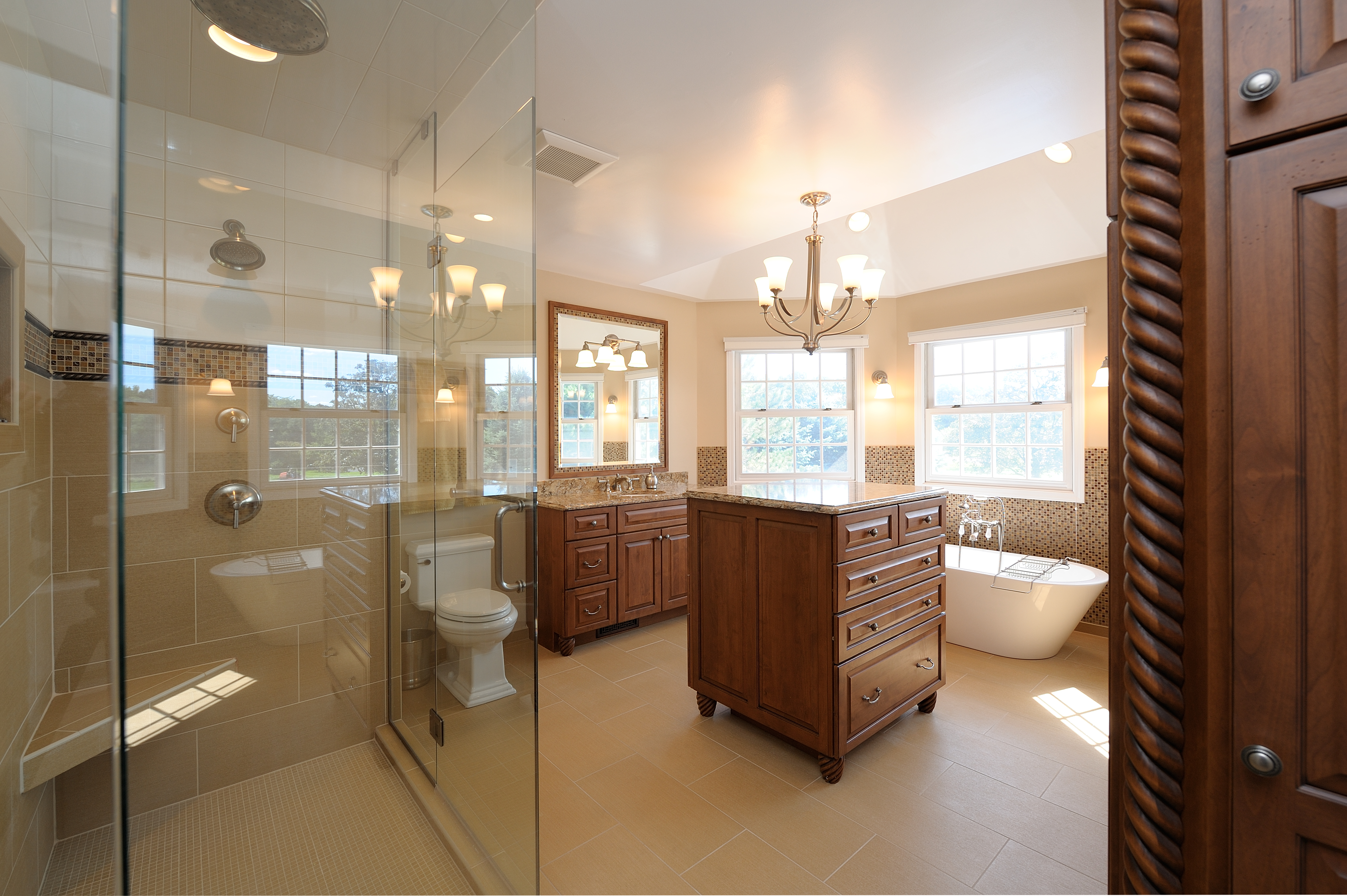 Master suite by Kalamazoo Custom Kitchens and Baths, Kalamazoo, MI